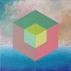 hexaedro/arte que sana /sacredgeometry/ lorena carreño