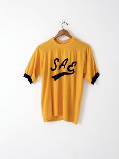vintage 70s SAE fraternity t-shirt