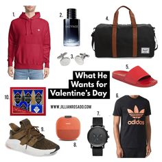 Valentine's Day Gifts for Him @jillianrosado