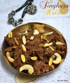 Previous Post Collection of Singhara Atta (Water Chestnut Flour) Recipes for Navratri Fasting Vrat Upwas planing …. Easy Indian Recipes, Indian Dessert Recipes, Indian Sweets, Sweet Recipes, Indian Snacks, Navratri Recipes, Navratri Food, Flour Recipes, Cooking Recipes