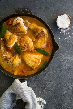 Chicken with Tomato,