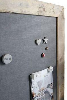 Magneetbord - Met magneetverf en een leuke kleur kun je op allerlei een eigen magneetbord maken. In dit stappenplan leg ik uit hoe je dit het beste aanpakt.
