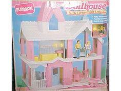 playskool dollhouse #90s