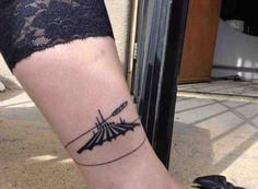 Space Mountain Disney tattoo