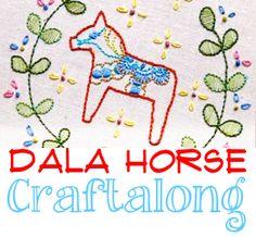 dala craft along - looks like fun!