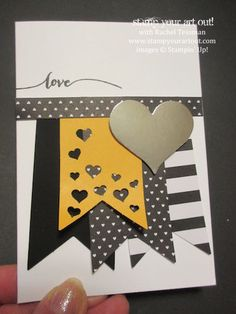 Click here to see what else you can make with the Occasions Catalog's Hello Life project kit, its matching stamp set, and Sale-a-Bration's Best Year Ever Designer Paper… #stampyourartout #stampinup - Stampin' Up!® - Stamp Your Art Out! www.stampyourartout.com