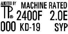 MSR Machine Graded Lumber Stamp