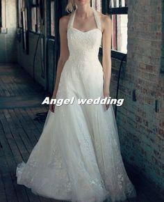 Custom Wedding Dress Vintage Lace Wedding by AngelWeddingDress, $268.00