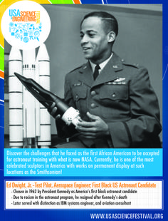 Ed Dwight, Jr. – Test Pilot, Aerospace Engineer and first African American Astronaut Candidate