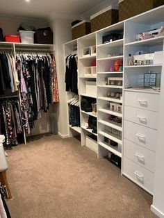 Wardrobe Organisation, Closet, Home Decor, Armoire, Decoration Home, Room Decor, Closets, Cupboard, Wardrobes