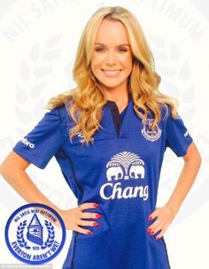 Amanda Holden, Britain Got Talent, Everton Fc, Pin Up, Sexy Women, Soccer, Celebs, Football, Sports