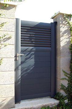 Portail, portillon, clôture aluminium - Dominica - ROY