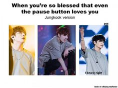 Jungkook is blessed