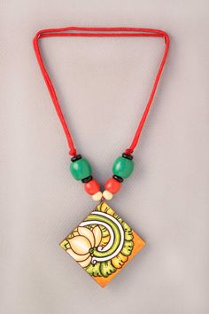 Handcrafted Neckpiece- Lotus