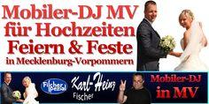 DJ für Hochzeit auf Rügen - Mobile Disco Fischer Spezial http://www.dj-ruegen.de