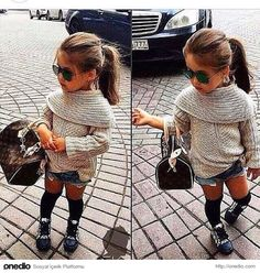 Cute outfit baby little girl fashion, baby girl fashion и baby swag. Fashion Kids, Toddler Fashion, Fall Fashion, Fashion 2015, Trending Fashion, Fashion Beauty, Little Girl Outfits, Little Girl Fashion, Baby Kind