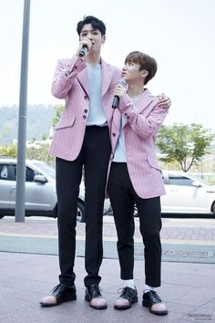 #pentagon Wooseok & JinHo  so cute♡♡♡ #wooseok#jinho