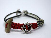 maritimes Armband mit Treibholz