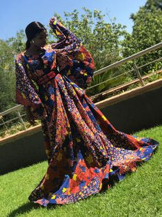 African Print Fashion in South Africa Johannesburg - chic-and-posh African Print Fashion, Fashion Prints, Kente Styles, Ankara Fabric, New Chic, African Attire, Black Women, Fashion Dresses, How To Wear