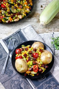 Succotash of Corn, Apple & Cabbage | gluten free food | Pinterest ...