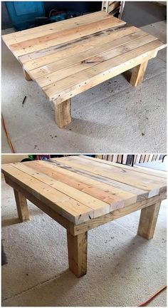 Bringing you closer with more creative ideas of the wood pallet project work, let's bring you out with the idea of table design. This table design work has been moderate compact in designing variations to suitably add in your house right now. See the image to get some best idea out!