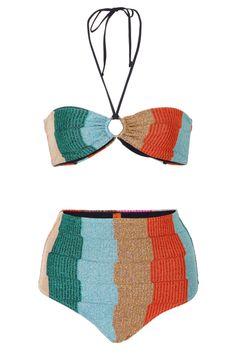 30146471e4 13 Cute High-Waisted Bikinis If It Ever Gets Warm One Piece Bikini, Bikini