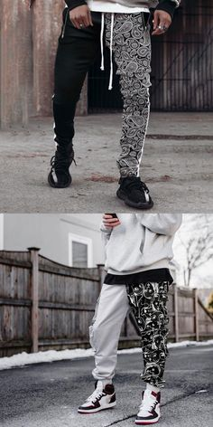 Every fashion trend you should know about in 2020. We show you how to wear the latest men's fashion trends for this season and next. #street #men #fahsion Fashion Pants, Men's Fashion, Fashion Trends, Men Trousers, Sweatpants, Street Style, How To Wear, Shopping, Moda Masculina