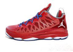 Jordan CP3.VI 553533 607 Sport Red White Gym Red Game Royal CP3 Shoes 2013