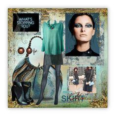 """Boho Bliss"" by kim-zandvoort ❤ liked on Polyvore featuring Uniqlo, Tory Burch, Barbajada, NEST Jewelry, Nicholas Kirkwood, Honora and microminis"