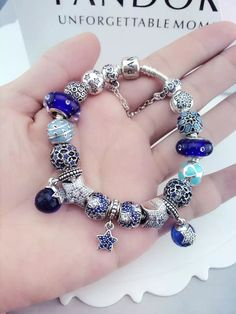 50% OFF!!! $419 Pandora Charm Bracelet. Hot Sale!!! SKU: CB01533 - PANDORA Bracelet Ideas