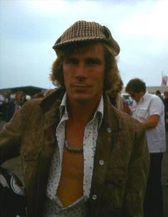 James Hunt F1 great