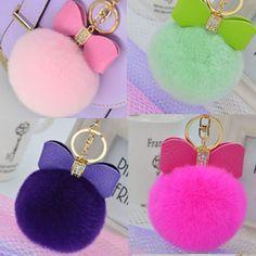 Hot sale real Fur Ball Keychain - Rex Rabbit Fur Pom Pom Plush Key Chain Keyring men women keychain-EH-402B♦️ B E S T Online Marketplace - SaleVenue ♦️ http://www.salevenue.co.uk/products/hot-sale-real-fur-ball-keychain-rex-rabbit-fur-pom-pom-plush-key-chain-keyring-men-women-keychain-eh-402b/ US $1.68