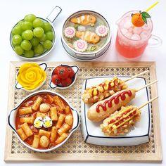 K Food, Food Menu, Good Food, Food Porn, Yummy Food, Cafe Food, Aesthetic Food, Korean Food, Food Cravings
