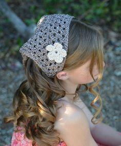 Teen Fashion Tween Fashion Boho Headband Summer Head Scarf Beach Hair by foreverandrea,