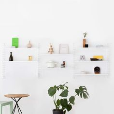 Unobtrusive Steel Shelving