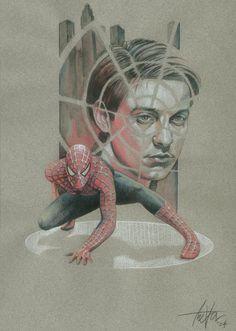 #Spiderman #Fan #Art. (Spiderman) By: TrevorGrove. (THE * 5 * STÅR * ÅWARD * OF: * AW YEAH, IT'S MAJOR ÅWESOMENESS!!!™) ÅÅÅ+