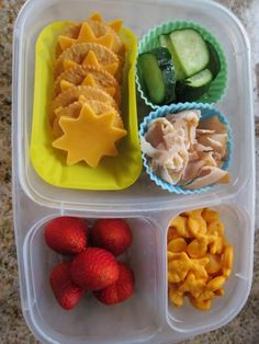 DIY Lunchable packed in #EasyLunchboxes