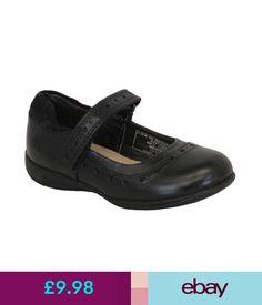 db3015f8b81e Girls  Shoes Girls School Leather Shoes Ballerina Kids Toddlers Formal  Children Fashion  ebay