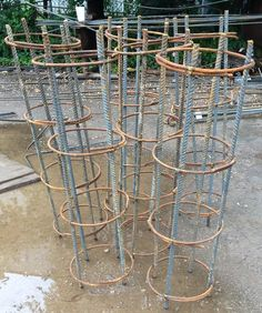 How to bend rebar manually pinterest metals yard art and garden art photo of ponce rebar austin tx united states prefabricated piers or just metal artgarden solutioingenieria Images