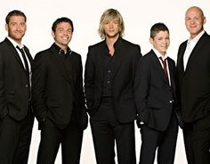 Celtic Thunder.Great bunch of talented lads.Sure do miss George terribly.Almost a year has passed;'(