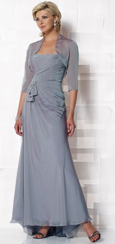 Mon Cheri Mother of the Bride Dress 112647 � The Rose Dress Online Store