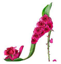 Jardin Decora: Zapatos de flor