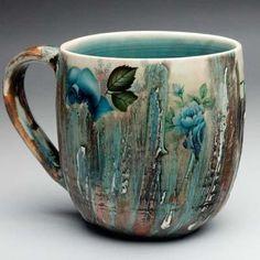 Art pottery mug