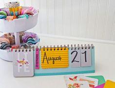 Te comparto una lista de varios calendarios que puedes hacer fácilmente con materiales muy fáciles de conseguir. Ideales para organizar cada mes.
