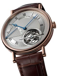 Breguet Classique Tourbillon Extra-Thin Automatic 5377: O turbilhão mais fino do mundo a ser lançado.