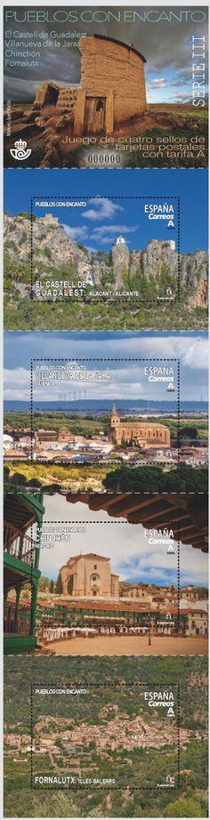 16ª Emisión: Pueblos con encanto; Fecha emisión: 13/03/18;Los pueblos elegidos en esta ocasión son: Villanueva de la Jara en Cuenca, Chinchón en Madrid, Fornalutx en Illes Balears y El Castell de Guadalest en Alicante.