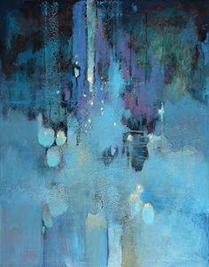 "Stardust by Christopher Westfall Acrylic ~ 28"" x 22"""
