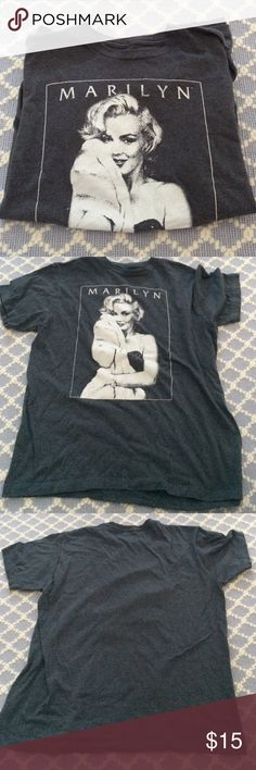 Marilyn Monroe t-shirt soft and cozy shirt, don't quite know if it is vintage or not! bought at consignment shop Vintage Tops Tees - Short Sleeve