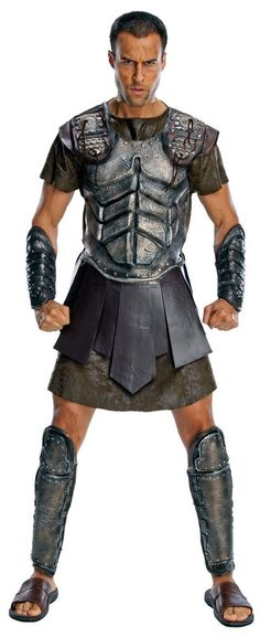 Costumes! Deluxe Clash of the Titans Greek Mythological Perseus Costume Adult St #RU #costume