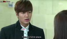 "Makasabi ng ""You got 57th place, is that a score?"" pang 100th place ka kaya Kim Tan.. hehehe! :P :D #HEIRS"